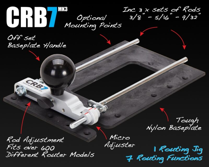 CRB7 Combination Router Base