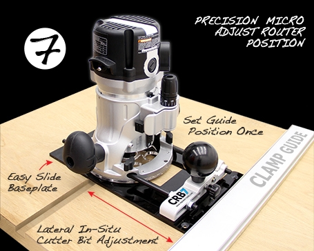 Adjustable Clamp Guide
