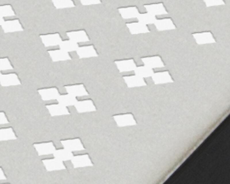 Diamond Cross Recess Pattern