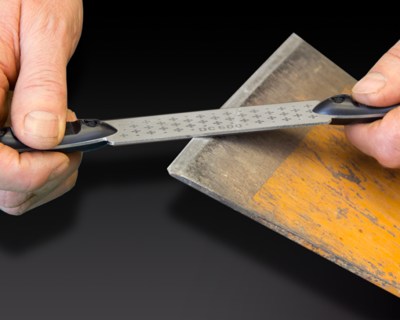 Diamond Cross Twin Handle File - Root Cutter Blade