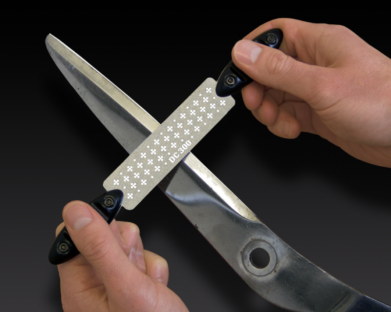 Diamond Cross Twin Handle File - Shear Blade