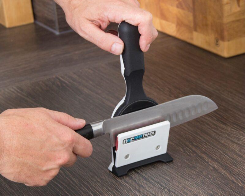 Knife Sharpener Worktop Technique